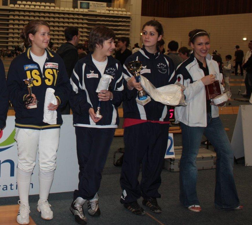 Natacha, championne des Hauts-de-Seine 2009