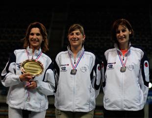 L'équipe 2 féminime, vice championne de France Seconde Division