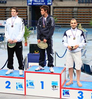 Fabrice GARNIER - 3ème des championnats de France Individuelle Seconde division