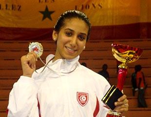 Inès BOUBAKRI - Championne d'Afrique 2009