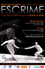 Affiche Challenge Bourg la Reine 2010