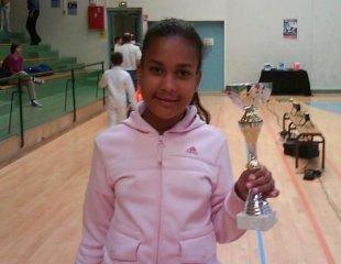 Océane SEBIRE médaillée de bronze