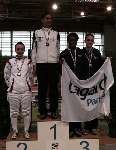 Ysaora THIBUS championne de France Junior 2010