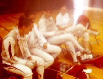 Equipe composée de Mélanie, Inès, Gwen et Blandine