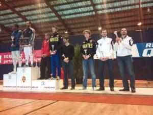 Pierrick et Mohamed finalistes à Bordeaux