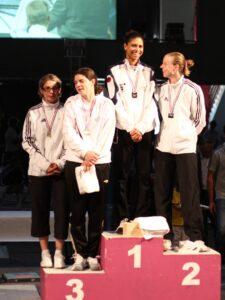 Ysaora championne de France 2011