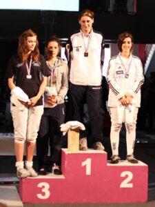Blandine championne de France 2011 (National 3)