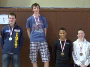 Kilian médaille de bronze en Cadet