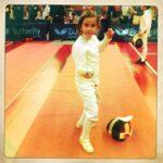 Première compétition de Sophie