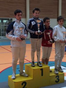 Aymeric remporte la Coupe Laurie