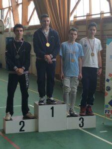 Cyril médaillé de bronze au championnat de ligue