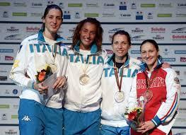 Martina (à gauche) vice-championne d'Europe
