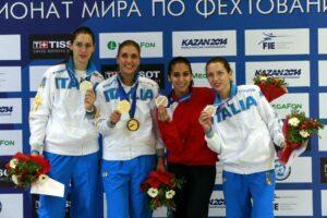 Martina et Inès, 2ème et 3ème des championnats du monde