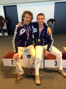 Yves et Vincent médaillés aux championnats d'Ile-de-France