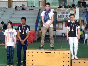 Kim médaille de bronze au championnat de ligue minimes