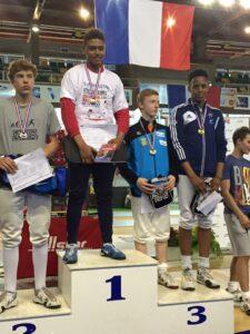 Kim remporte la médaille de bronze à la fête des jeunes 2015