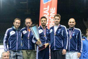 Quentin, Momo, Alexis et Fabrice champions de France par équipe N3