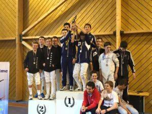 L'équipe minimes remporte la Coupe Leseigneur 2015