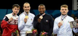 Jean Paul médaillée de bronze aux jeux européens