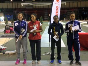 Gaëlle remporte le TIPIF 2015, Chloé monte sur la 3ème marche