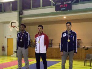 Kim et Cyril médaille d'argent et de bronze au championnat de Ligue