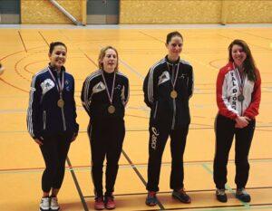 Marie Eloïse médaillée de bronze