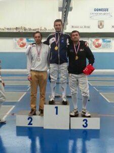Vincent champion d'Ile-de-France 2016