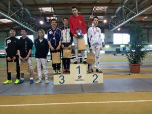 Superbe médaille de bronze pour Aymeric