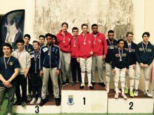 Belle médaille de bronze pour nos cadets