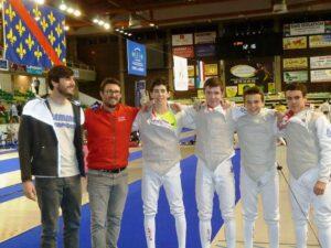 Aymeric médaillé de bronze par équipe