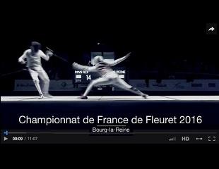 Reportage sur les championnats de France Fleuret 2016 à Bourg-la-Reine