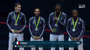 Jean-Paul médaillé d'argent avec l'équipe de France
