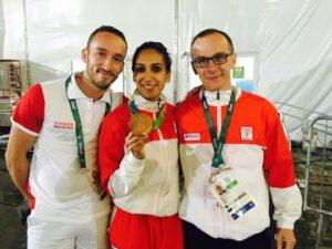 Inès médaillée de bronze à Rio