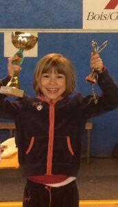 Cloelia termine 1ère de la compétition pour la 2e fois de la saison.