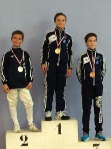 Antonin et Mattéo sur le podium