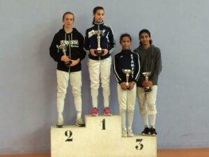 Ilona remporte la Coupe Laurie
