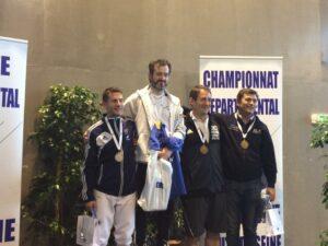 Vincent vice-champion des Hauts-de-Seine