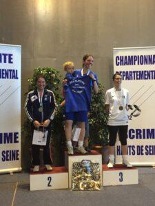 Tara vice championne des Hauts-de-Seine