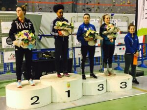 Solène remporte le circuit national d'Hénin Beaumont