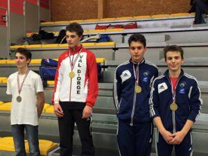 Aymeric et Cyril médaillés de bronze
