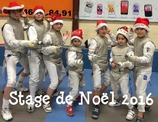 Stage de Noël 2016