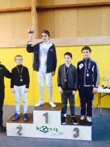 Antonin médaillé de bronze en D2