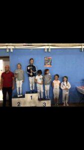 Camille remporte l'épreuve M9