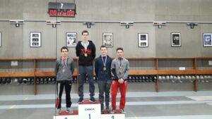 Aymeric médaille de bronze