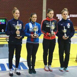 Alice remporte l'épreuve de Coupe du monde de Zagreb