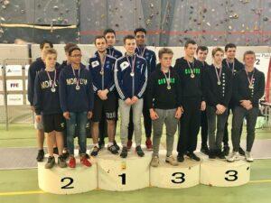Les garçons remportent l'or en N2