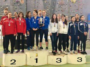 Les filles remportent la médaille de bronze en N1