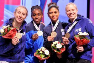 L'équipe de France remporte le bronze