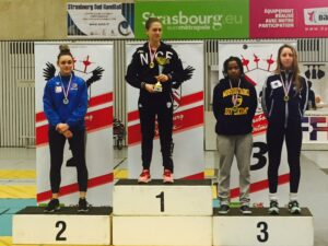 Alice médaillée de bronze en N1