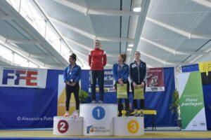 Juliette médaillée de bronze en N2